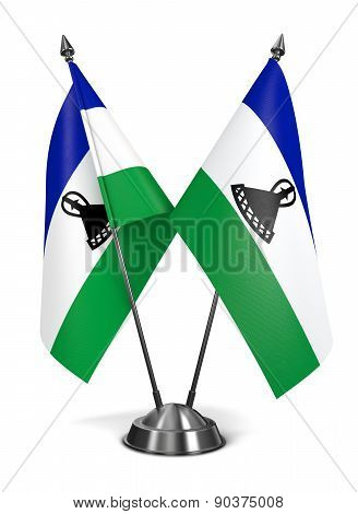 Lesotho - Miniature Flags.
