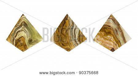Mineral Onyx Pyramid.