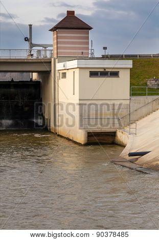 Dam on the river, Czech Republic