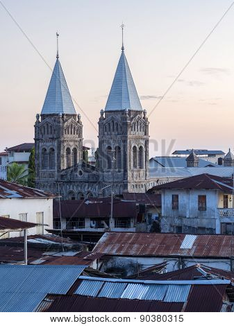 St. Joseph's Catholic Cathedral in Stone Town, Zanzibar