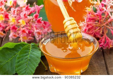 Chestnuts flower honey