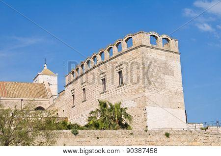 St. Scolastica Church. Bari. Puglia. Southern Italy.