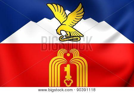 Flag Of Pyatigorsk, Russia.