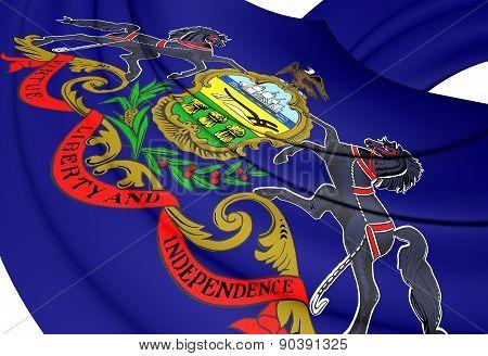 Flag Of Philadelphia, Usa.