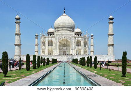 Taj Mahal. Agra, India