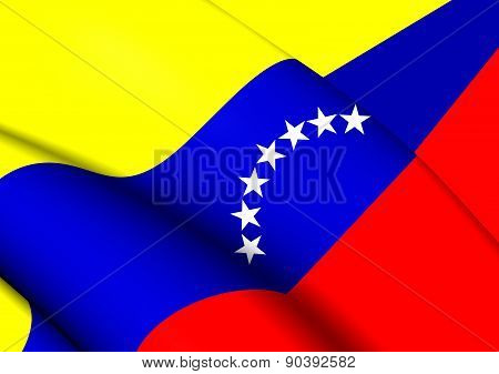 Civil Ensign Of Venezuela