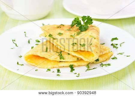 Omelet With Herbs