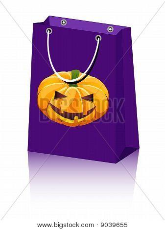 Halloween Bag Pumpkin