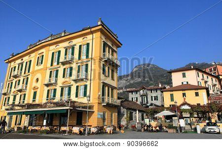 Resort town Varenna at Lake Como