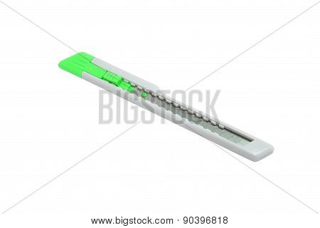 Green color paper cutter