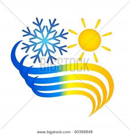Symbol air conditioner