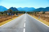 foto of horizon  - Highway road - JPG