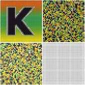 foto of letter k  - Letter K  - JPG