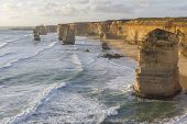 picture of 12 apostles  - This photo was shot from Twelve Apostles which is on the Great Ocean Road Australia - JPG