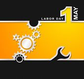 pic of labor  - 1 May international labor day background sample - JPG