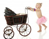 image of buggy  - An adorable barefoot 2 - JPG