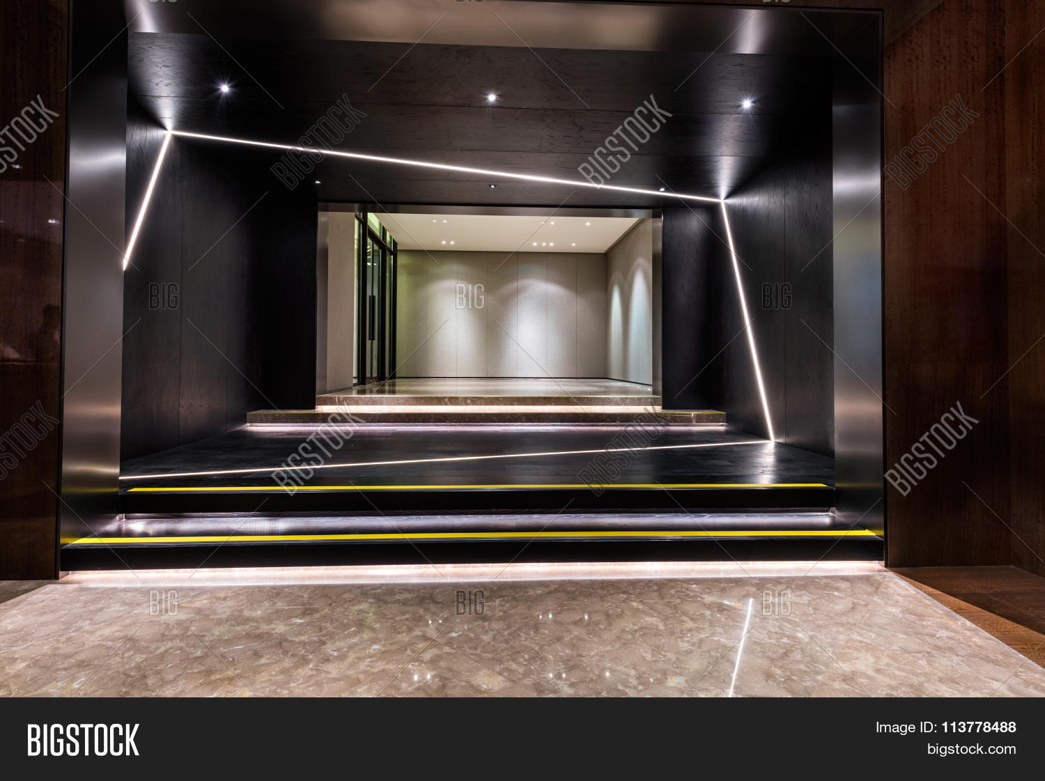 Area Of Foyer : Foyer entrance area of a building stock photo