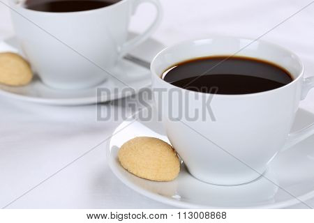 Fresh Coffee In Cup