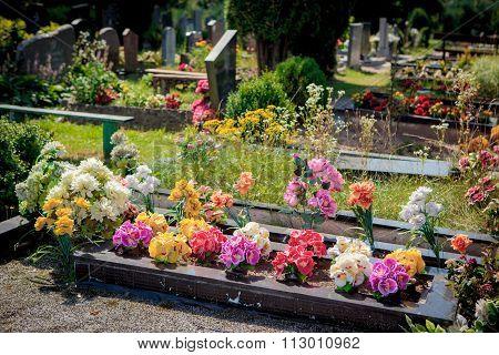 Tatar Graveyard In Nemezis, Lithuania