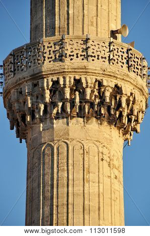 Mosque and minaret