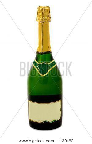 Champagne Bottle Full