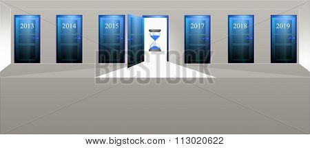 Annual doors - Past, present and future