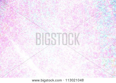 Abstract Pink White and Teal Mottled Lights