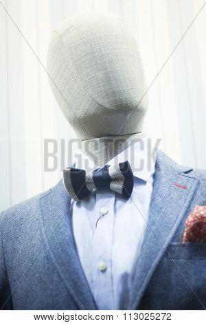 Fashion Shop Clothes Mannequin Store Window