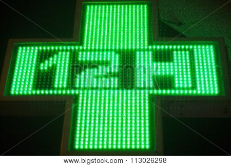 Pharmacy Neon Light Chemists Sign