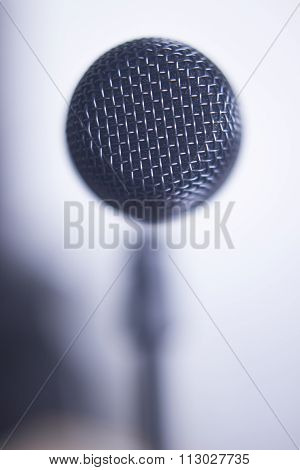 Professional Voice Microphone On Stand
