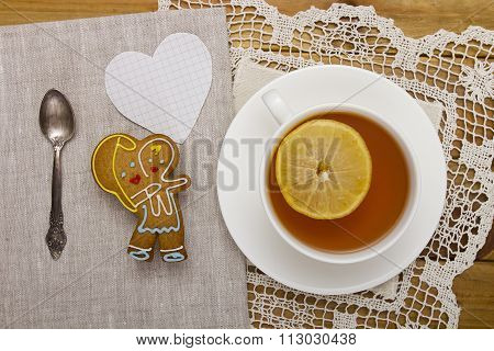 Cookies With Tea For Mom