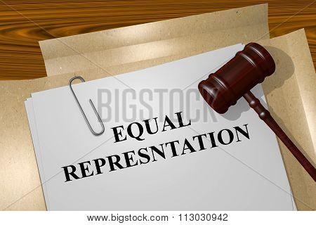 Equal Representation Concept