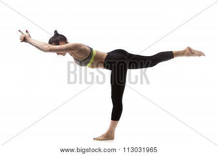Warrior 3 Pose