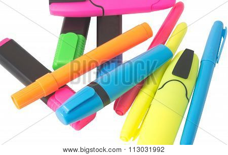 Multicolored Felt-tip Pens