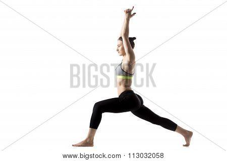 Warrior 1 Pose