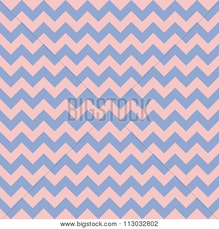 Chevron seamless pattern background. Vector illustration. Rose quarts and serenity colors.