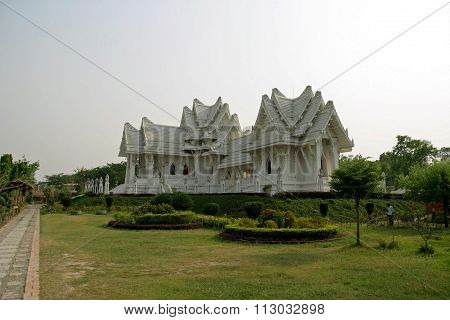 Thai temple in Lumbini Nepal (birth place of Buddha)