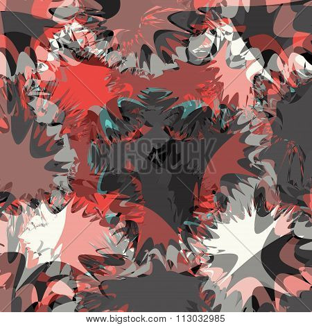 Blots Bright Abstract Background Vector Illustration