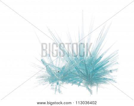 Beautiful Unusual Blue Transparent Crystal