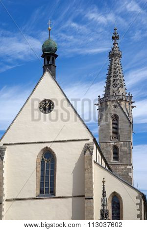 Cathedral of St. Martin in Rottenburg