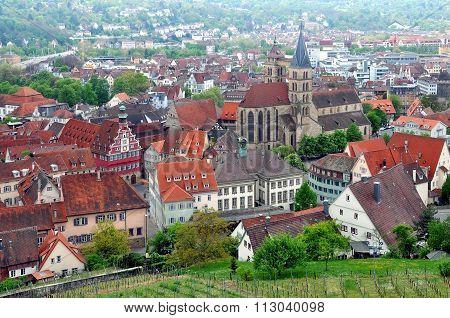 Esslingen Panorama, Germany