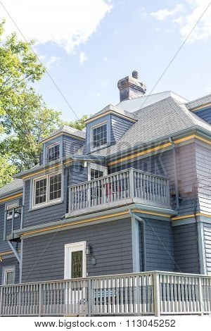 Gray Clapboard Siding