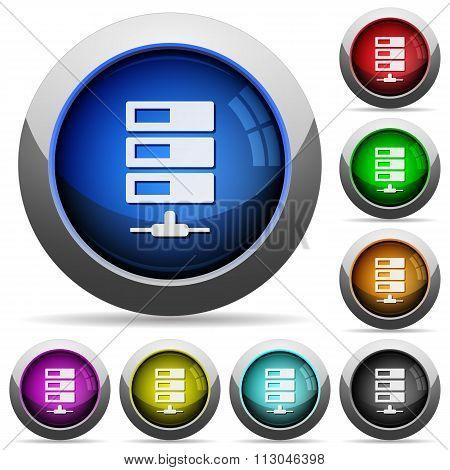 Data Network Button Set
