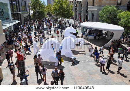 White Horse Puppets in Perth