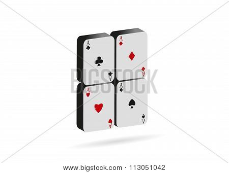 icon playing cards..