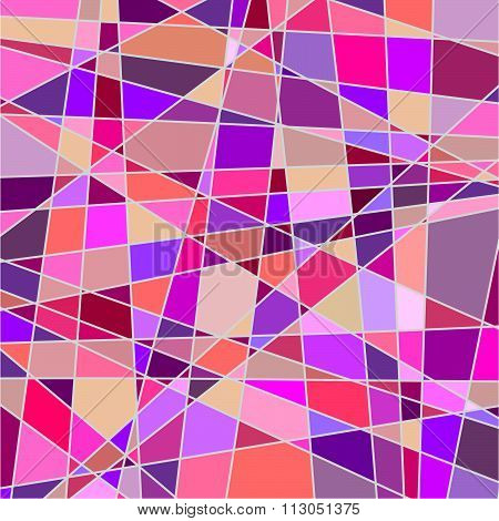 pattern of pink color
