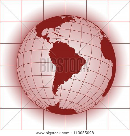 South America Red