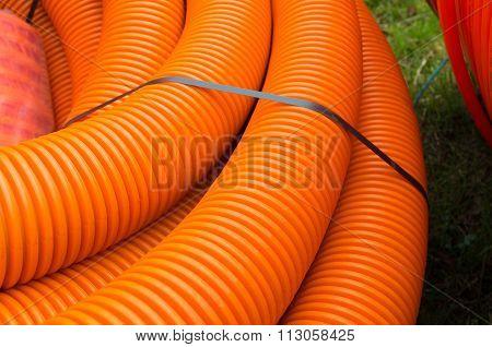 Orange Cable Hoses