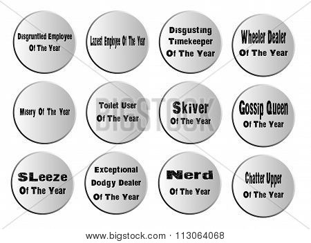 Of The Year Badges
