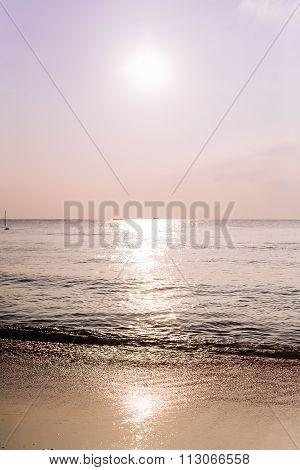 A View Of Tropical Sea Landscape